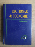 Anticariat: Dictionar de economie