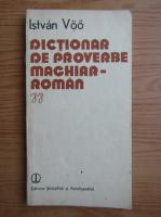 Dictionar de proverbe maghiar-roman