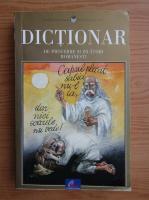 Dictionar de proverbe si zicatori romanesti