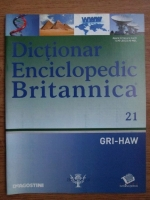 Anticariat: Dictionar Enciclopedic Britannica, GRI-HAW, nr. 21