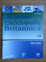Anticariat: Dictionar Enciclopedic Britannica, IND-INM, nr. 24