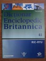 Anticariat: Dictionar Enciclopedic Britannica, RIC-RYU, nr. 41