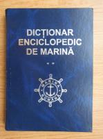 Dictionar enciclopedic de marina (volumul 2)