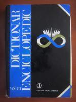 Anticariat: Dictionar enciclopedic (editura Enciclopedica, volumul 3, 1999)