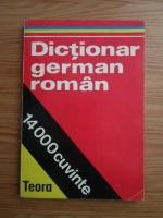 Dictionar german-roman 14.000 cuvinte