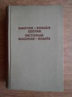 Dictionar maghiar-roman