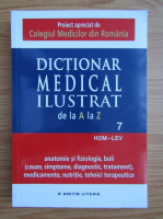 Anticariat: Dictionar medical ilustrat de la A la Z (volumul 7)