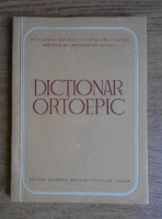 Anticariat: Dictionar ortoepic (1956)