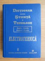 Dictionar pentru stiinta si tehnologie, francez-roman, englez-roman