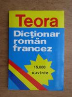 Anticariat: Dictionar roman francez