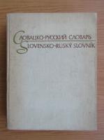 Dictionar rus-slovac