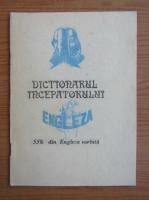 Dictionarul incepatorului. 55% din engleza vorbita