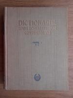 Dictionarul limbii romane literare contemporane. A-C (volumul 1)