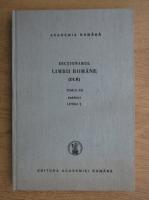 Anticariat: Dictionarul limbii romane (tomul XII, partea I)