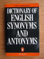 Anticariat: Dictionary of english synonyms and antonyms