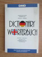 Anticariat: Dictionary worterbuch