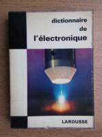 Dictionnaire de l'electronique