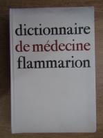 Anticariat: Dictionnaire de medecine