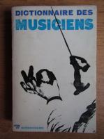 Anticariat: Dictionnaire des musiciens