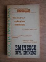 Anticariat: Dim. Pacurariu - Eminescu dupa Eminescu. Comunicari prezentate la Colocviul organizat la Universitatea din Paris-Sorbona