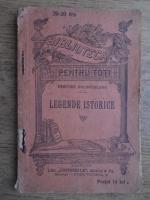 Dimitrie Bolintineanu - Legende istorice (1930)