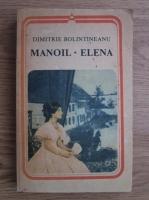 Anticariat: Dimitrie Bolintineanu - Manoil, Elena