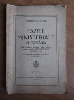 Anticariat: Dimitrie Costescu - Faze ministeriale in Romania (1936)