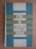 Dimitrie Macrea - Studii de lingvistica romana