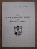 Anticariat: Din istoria Arhiepiscopiei Craiovei si a Municipiului Craiova