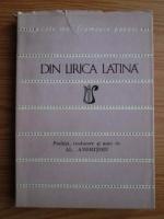 Anticariat: Din lirica latina (Colectia Cele mai frumoase poezii)