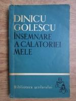 Dinicu Golescu - Insemnare a calatoriei mele