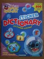 Disney magic english. Sticker dictionary