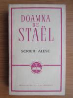 Anticariat: Doamna de Stael - Scrieri alese