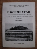 Anticariat: Documentar. Cinci ani de existenta a taberei Armonia
