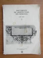 Anticariat: Documente de arhitectura din Romania (volumul 2, cu autograful autorului)