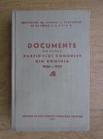 Anticariat: Documente din istoria Partidului Comunist Roman (volumul 4)