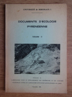 Anticariat: Documents d'ecologie pyreneenne (volumul 2)