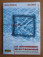 Doina Banciu - Le gouvernement electronique