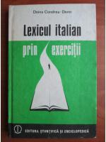 Anticariat: Doina Condrea-Derer - Lexicul italian prin exercitii