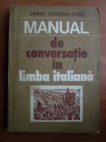 Doina Condrea-Derer - Manual de conversatie in limba italiana