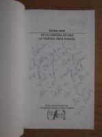 Doina Papp - De la cortina de fier la teatrul fara perdea (cu autograful autoarei)