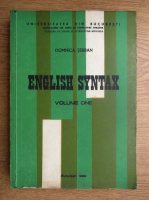 Anticariat: Domnica Serban - English Syntax