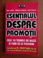 Don E. Schultz - Esentialul despre promotii. Cele 10 tehnici de baza si cum sa le folosim