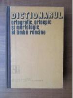DOOM - Dictionarul ortografic, ortoepic si morfologic al limbii romane