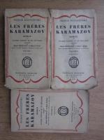 Anticariat: Dostoievski - Les freres Karamazov (1923, 3 volume)