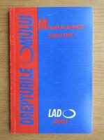 Anticariat: Drepturile omului. Manual de instruire pentru elevi (2001)