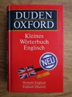 Duden Oxford Kleines Worterbuch Englisch. Deutsch-Englisch, Englisch-Deutsch