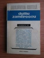 Anticariat: Duiliu Zamfirescu interpretat de (Biblioteca critica)