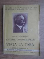 Duiliu Zamfirescu - Romanul Comanestenilor, volumul 1. Viata la tara (1942)