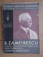 Duiliu Zamfirescu - Tanase Scatiu (1936)